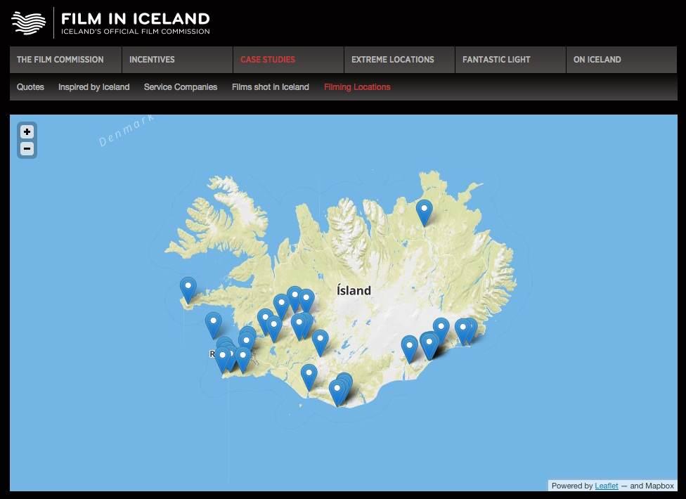 Island Grosste Filmkulisse Hollywoods Zauber Des Nordens