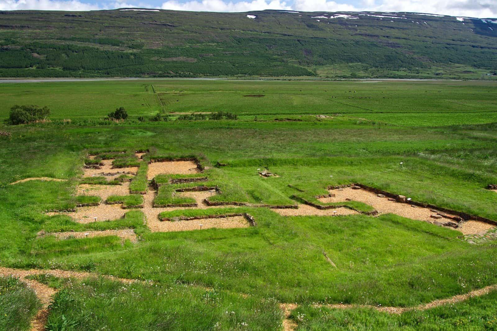 Ausgrabungsstätte von Skriðuklaustur