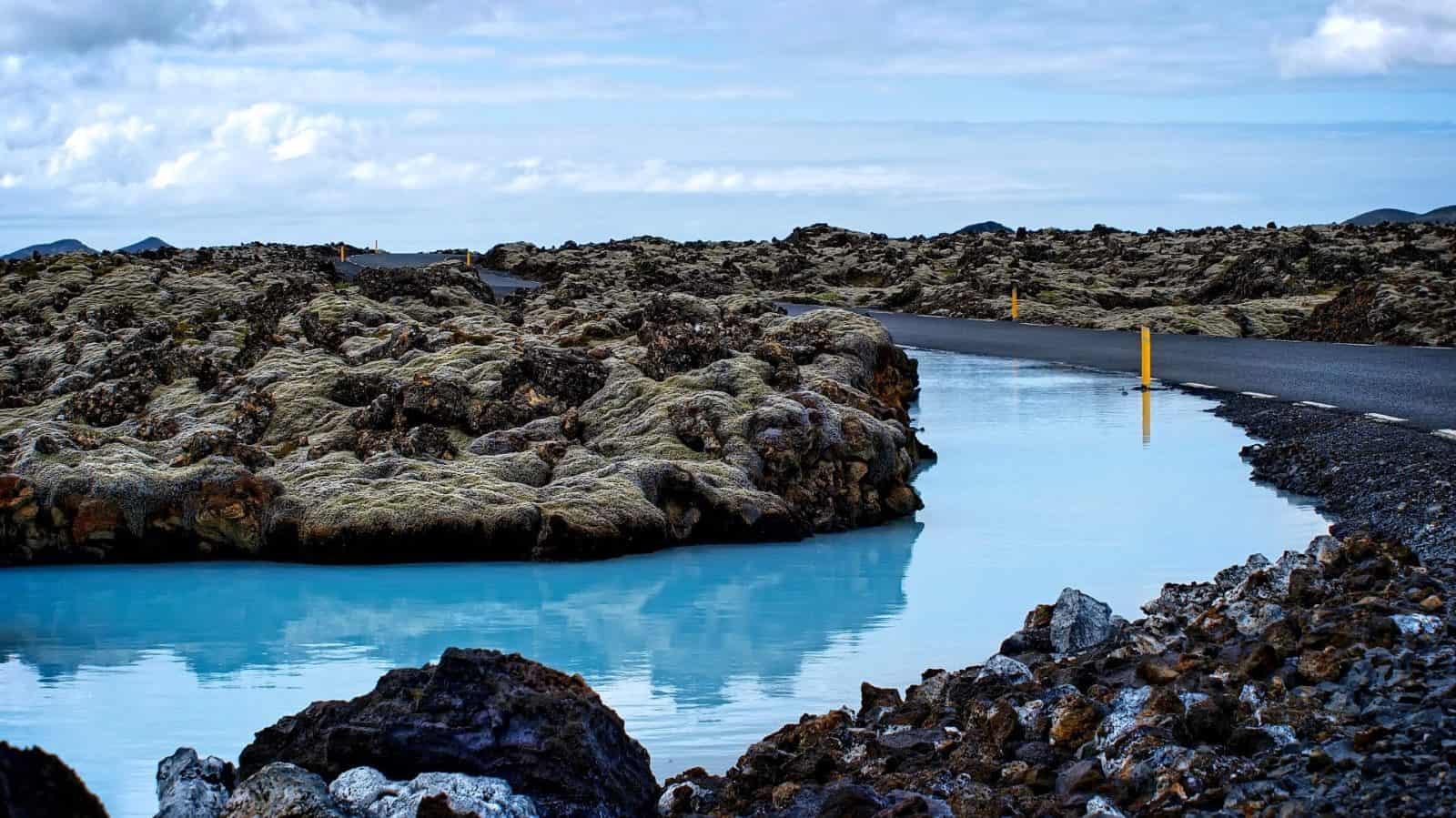 Blaue Lagune - Bláa Lónið