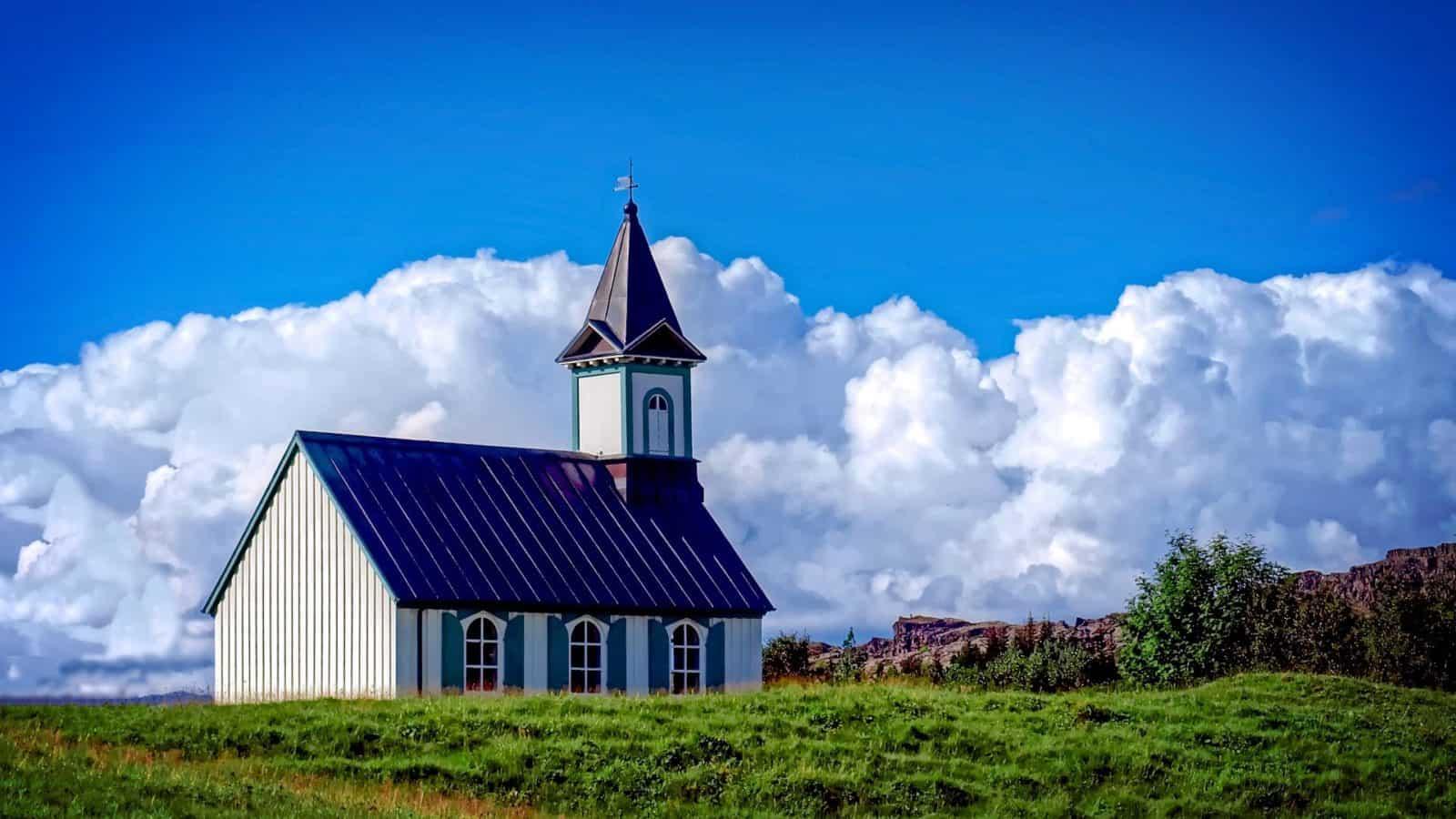 Kirche in Þingvellir