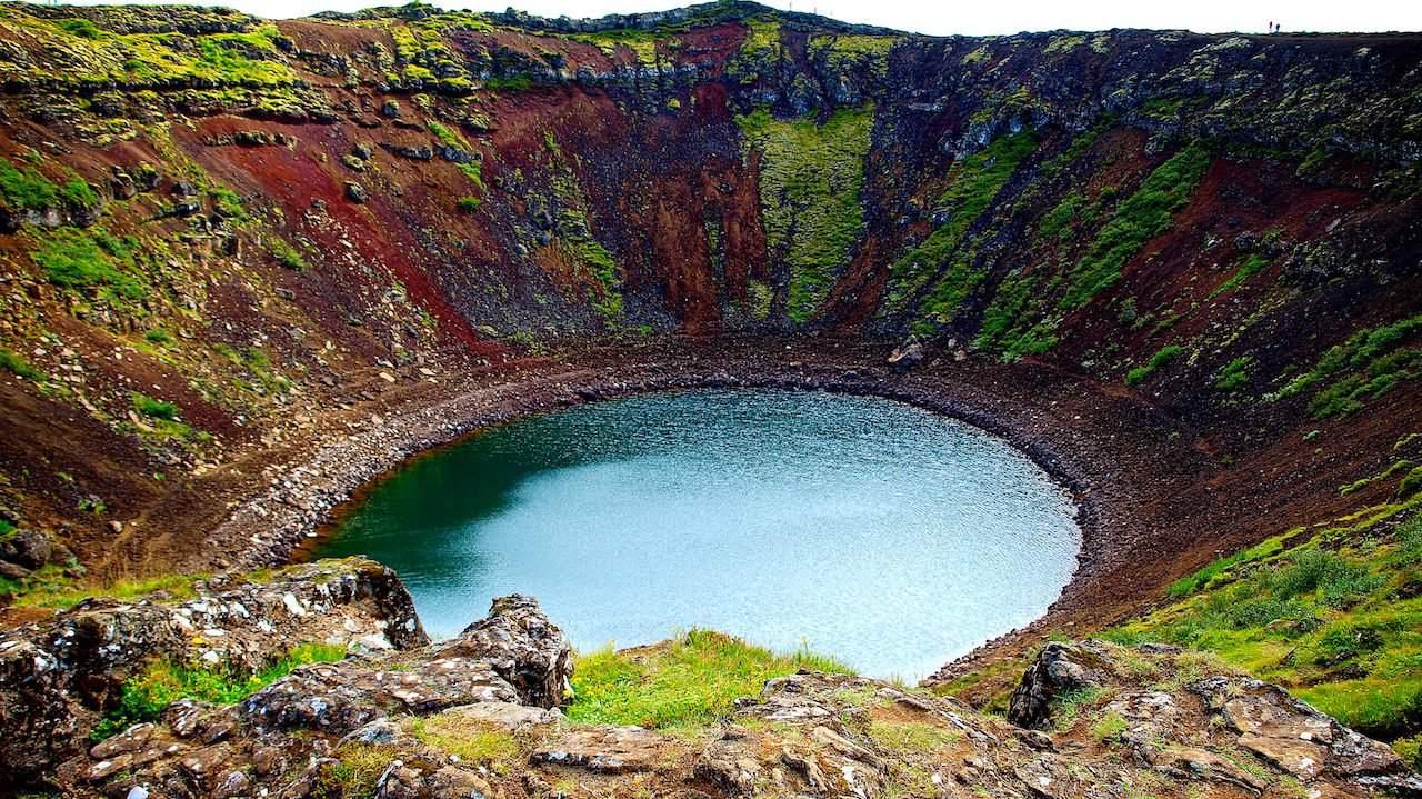 Vulkankrater Kerið