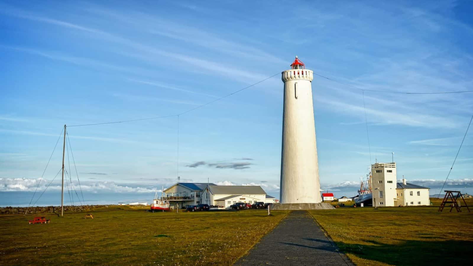 Neuer Leuchtturm von Garður