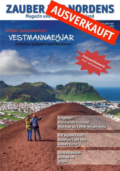 ZAUBER DES NORDENS - Ausgabe 2016.1 (Vestmannaeyjar)