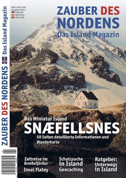 ZAUBER DES NORDENS - Ausgabe 2018.1 (Snæfellsnes)