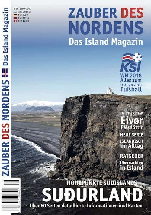 ZAUBER DES NORDENS - Ausgabe 2018.2 (Suðurland)