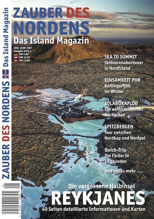 ZAUBER DES NORDENS - Ausgabe 2019.1 (Reykjanes)